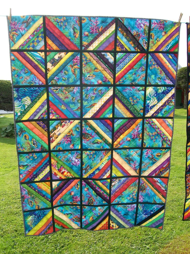 Colby's quilt side 1