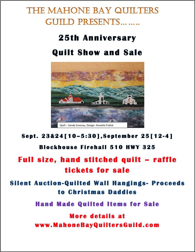 MBQG Quilt Show poster