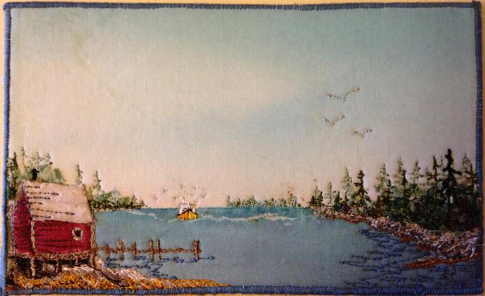 Pam W postcard