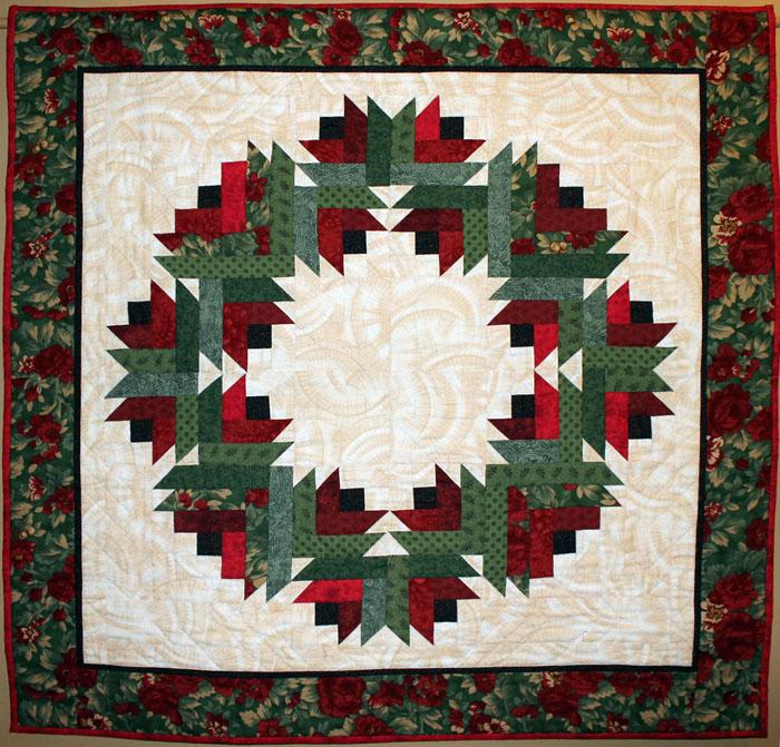 Barb's Christmas Wreath 2